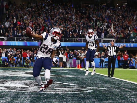 Image result for james white super bowl