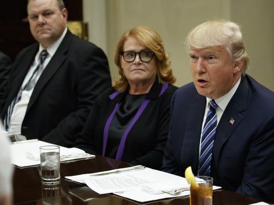 Donald Trump,Jon Tester,Heidi Heitkamp