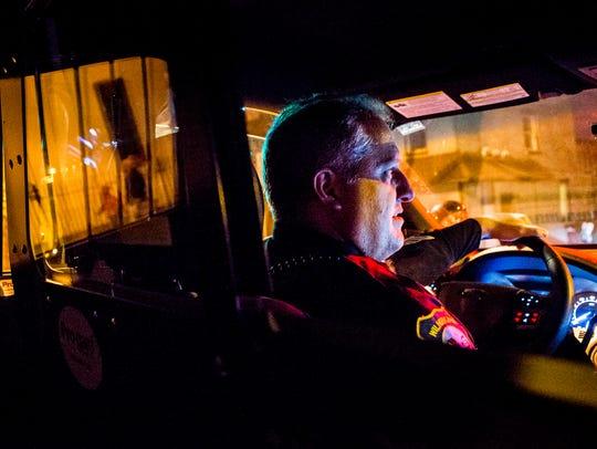 Sgt. Bill Schmid, of the Wilmington Police Department,