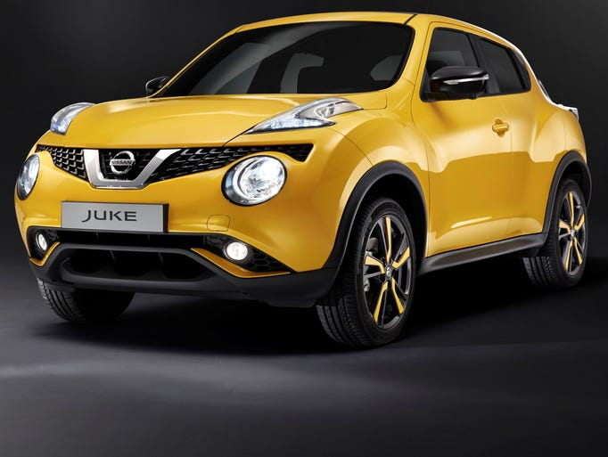What many might think are the foglights are actually the headlights on the Nissan Juke