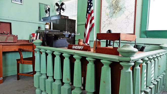 "A replica of ""The Andy Griffith Show's"" courthouse."