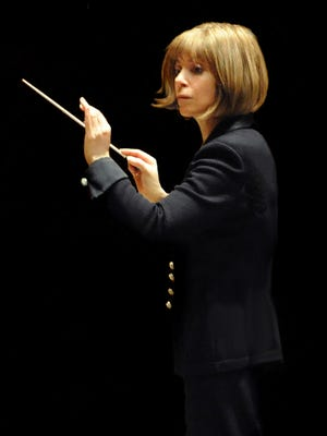 The Des Moines Symphony Orchestra welcomed guest conductor JoAnn Falletta to the helm last weekend for a concert devoted to grand and noble sounds featuring works by Johannes Brahms, American composer William Bolcom and Anton Bruckner.