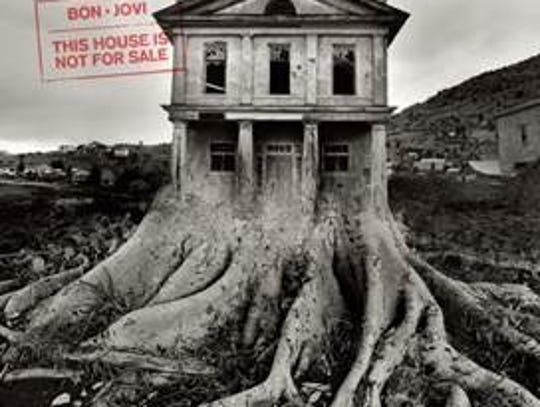 """The album cover for Bon Jovi's """"This House Is Not For"""