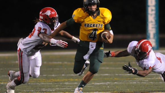 Former Reynolds quarterback Levi Ledford holds most of the school's passing records.