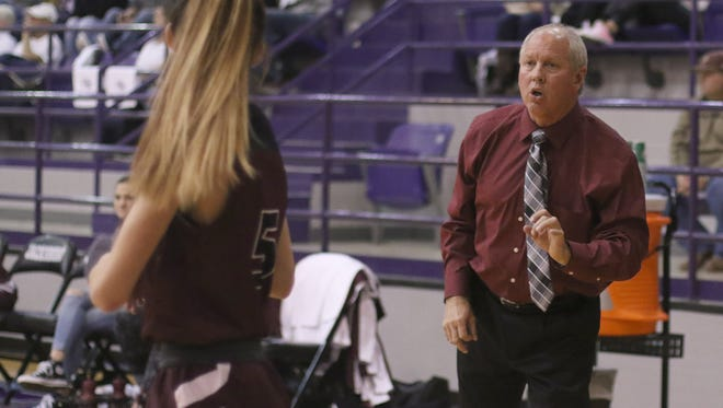 Chuck Hall took the Bowie girls basketball program over from Colby Davis Pastusek and has maintained the success the Lady Rabbits have experienced in recent years.