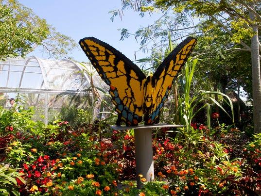 Lego Life At Naples Botanical Garden