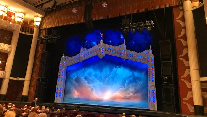 """The Kravis Center stage before """"The Book of Mormon"""" Broadway musical begins Nov. 26."""