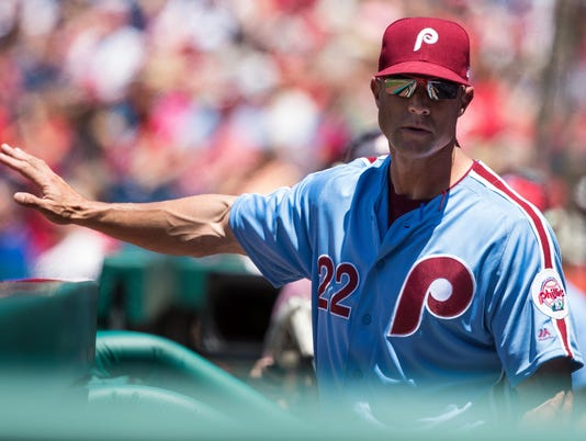 MLB: Colorado Rockies at Philadelphia Phillies