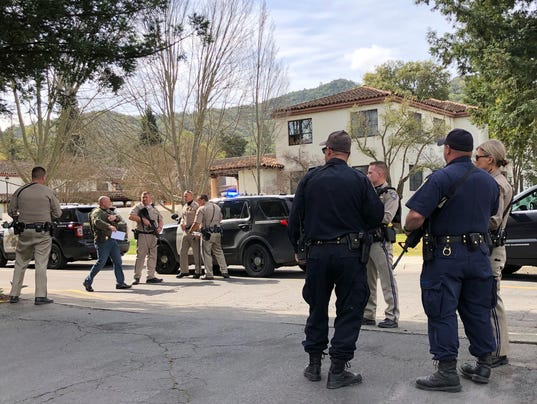 AP VETERANS HOME SHOOTING A USA CA
