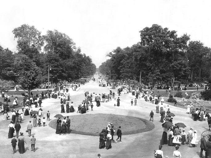 Belle Isle in 1901.