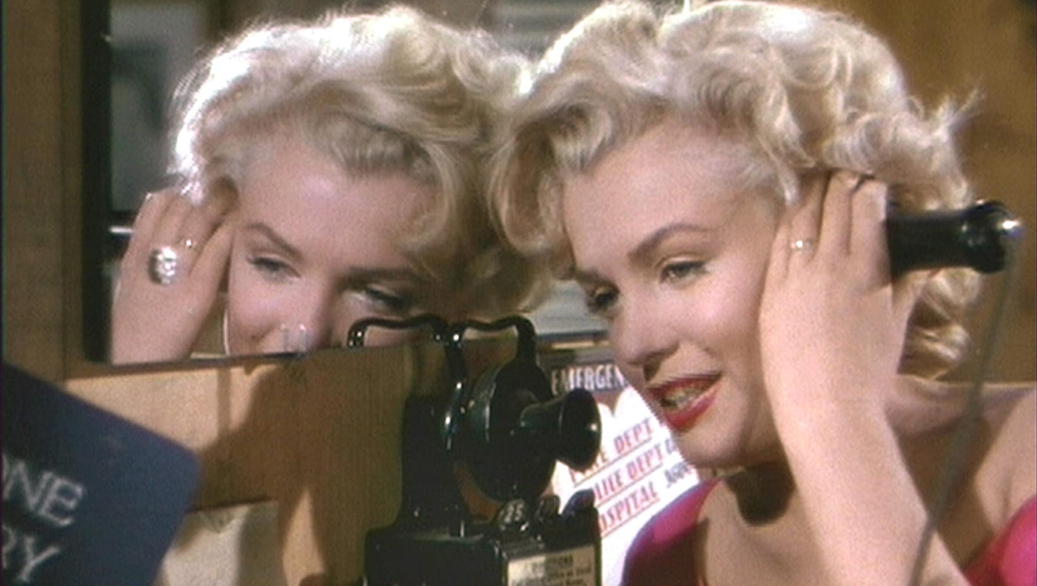 """Marilyn Monroe in a scene from the 1953 motion picture """"Niagara."""""""
