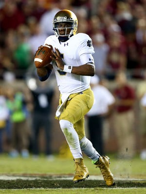 Former Notre Dame quarterback Everett Golson could suit up for Florida State in the fall.