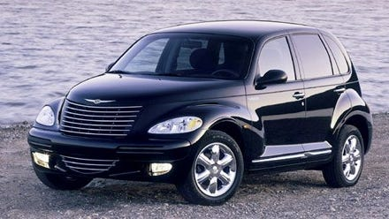The PT Cruiser was introduced in 2000 and sported a retro look that drew inspiration from the 1930s.