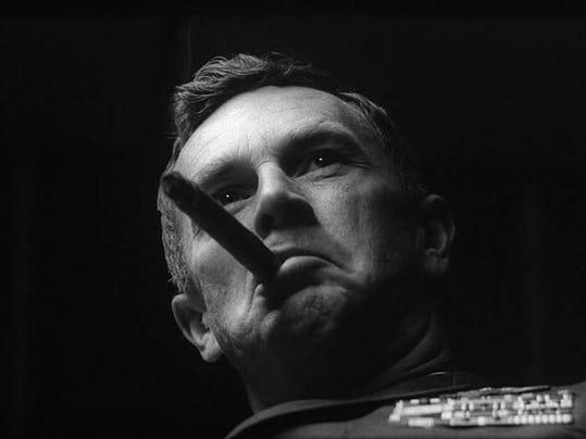 "Sterling Hayden as Gen. Jack E. Ripper in ""Dr. Strangelove."""