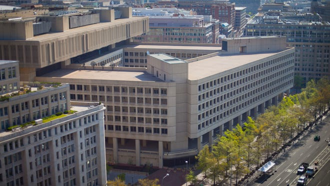 The headquarters of the Federal Bureau of Investigation in Washington, D.C.
