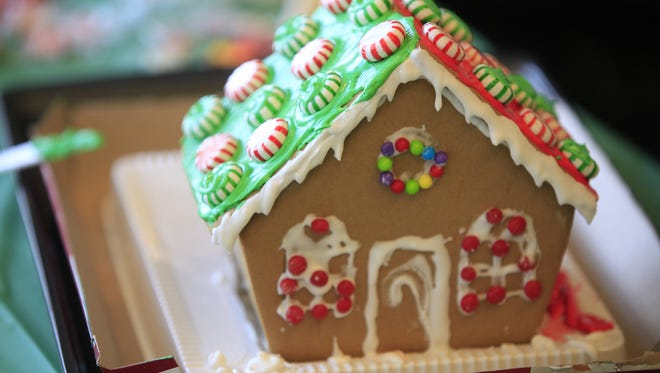 Families can make gingerbread houses at a Minnetrista workshop.