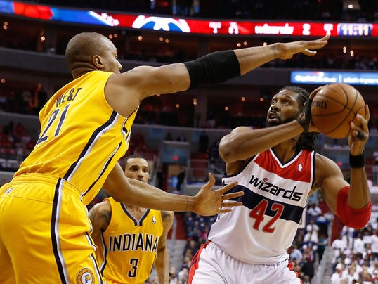 Pacers Wizards Basketball (2)