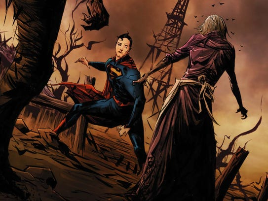Superman faces a horror that hits close to home in