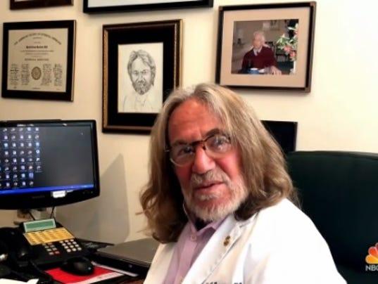 Trump's doctor stands behind upbeat health report