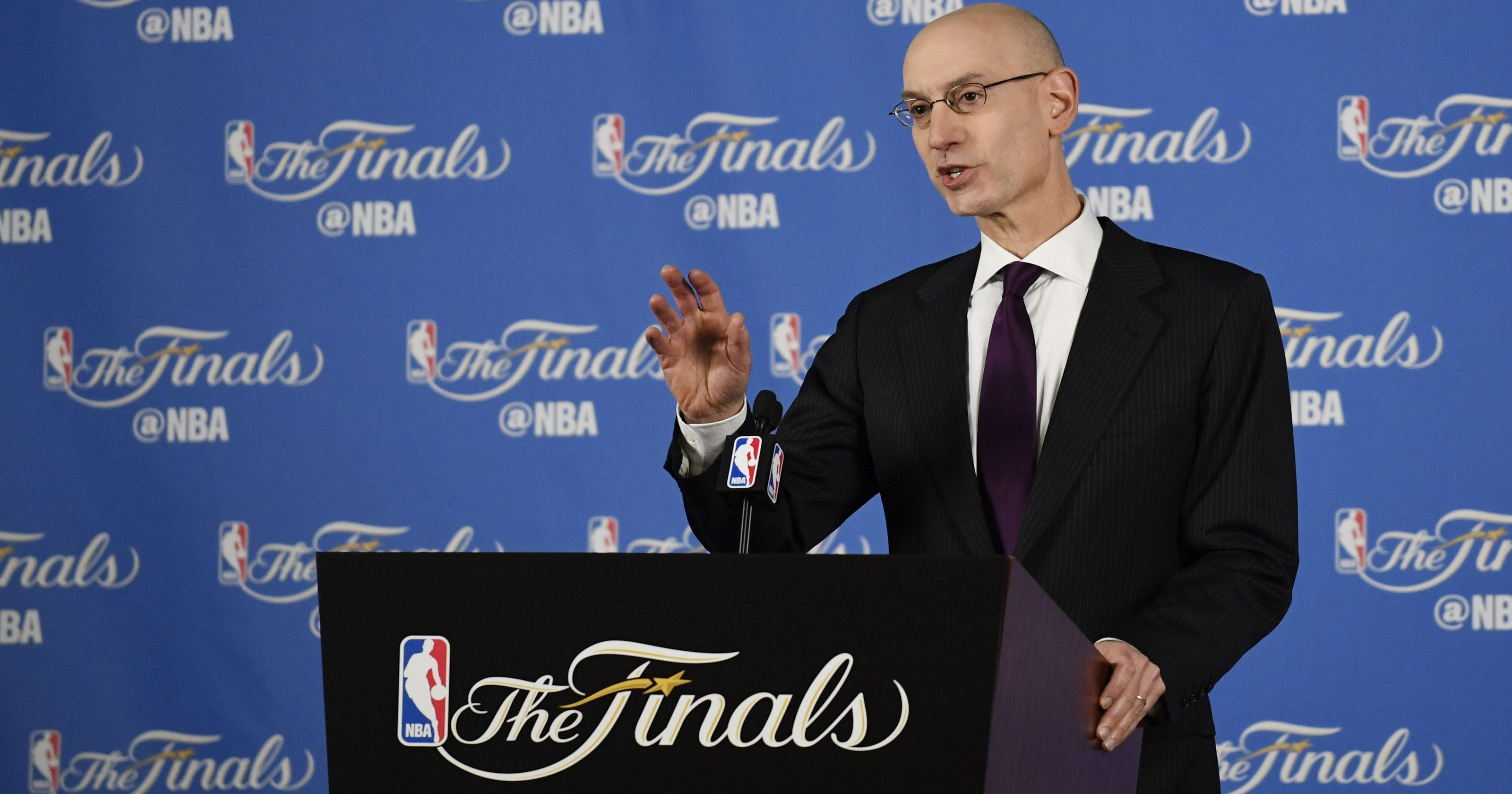 01cc4266ca6 NBA commissioner Adam Silver alludes to changing NBA s age limit