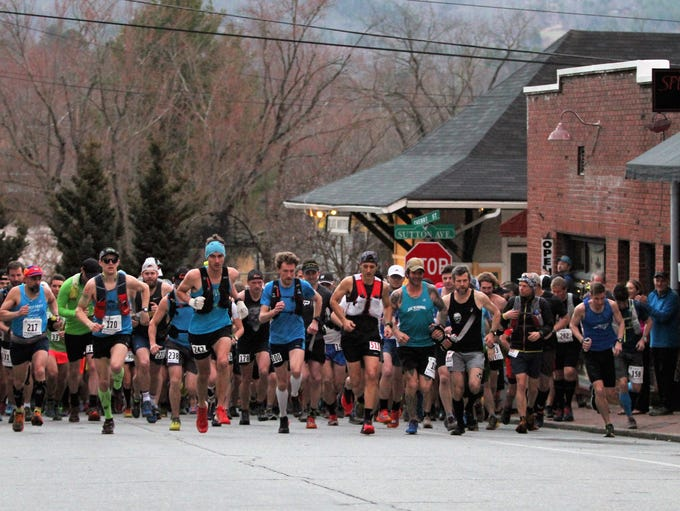 Hundreds of runners participated in the 2018 Mount