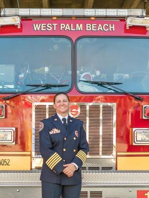 West Palm Beach Fire Chief Diana Matty.