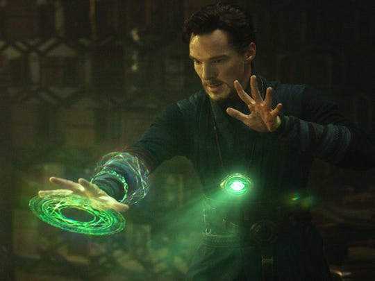 "Benedict Cumberbatch plays the arrogant surgeon turned sorcerer in Scott Derrickson's take on the Marvel hero ""Doctor Strange."""