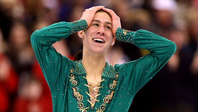 Jason Brown couldn't believe he won the silver medal.