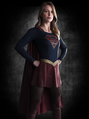 """In """"Supergirl,"""" Melissa Benoist (""""Glee"""") stars as Kara Zor-El, Superman's cousin who makes the same journey from the doomed planet of Krypton – """"Crypt-in,"""" as Marlon Brando says it – to Earth."""