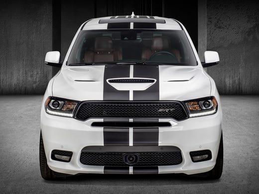 Hellcat Suv Durango Srt Adds Racing Stripes