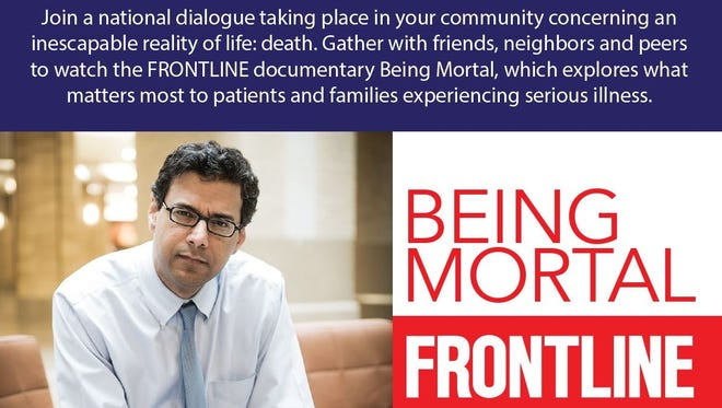 Being Mortal, a documentary about end of life decisions, will be screened free Oct. 17 at Texhoma Christian Care Center.