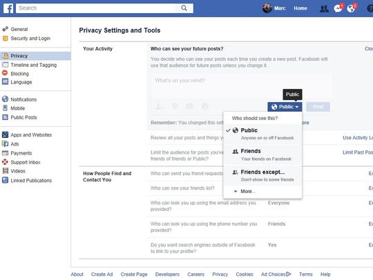 Take the time to go through your Facebook privacy and security settings. Uninstall apps that ask you to share your entire Friends list.