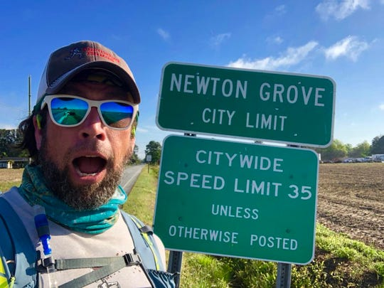 In just over a month, Black Mountain native Kenny Capps has traversed more than half of the Mountains-to-Sea Trail. He expects to complete his journey May 24 at Clingman's Dome.