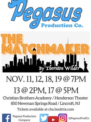 """Poster for """"The Matchmaker"""""""
