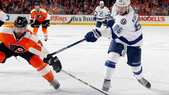 Nikita Kucherov and the Lightning will have to deal without Steven Stamkos for four months.