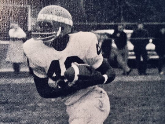 Middletown's Ed Jones played for five Grey Cup-winning