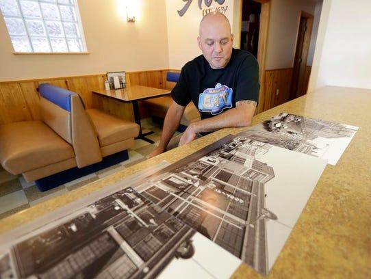 Michael Wirz, owner of Al's Hamburger on Washington
