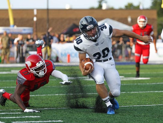 West Clermont High School's Austin Maham takes the