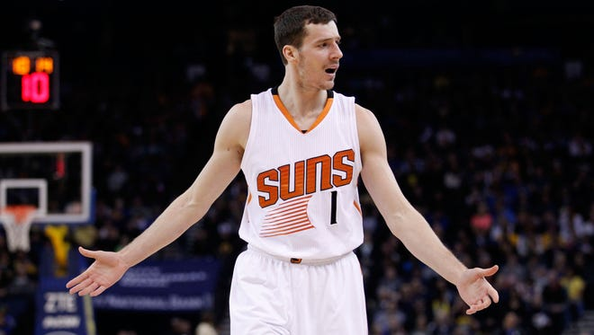 Goran Dragic told the Phoenix Suns he's not going to re-sign.
