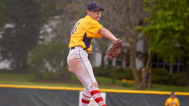 After sitting out last season, Pittsford Sutherland senior Max Carver is 5-1 this spring. He has pitched complete games in his last four starts, including Saturday's Section V championship, a 2-1 win over Aquinas.