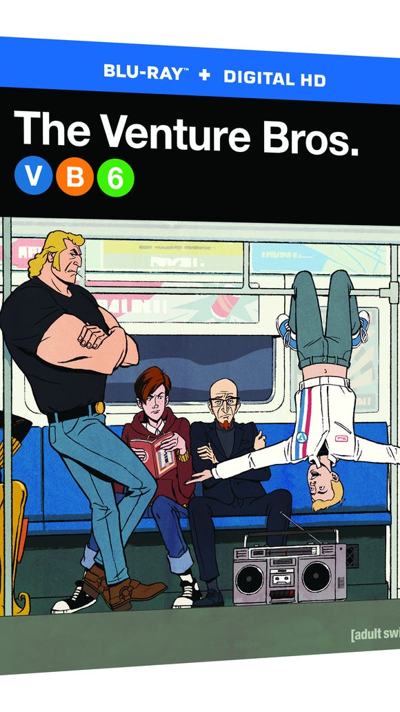 """The Venture Bros."" season 6 is now available on Blu-ray."