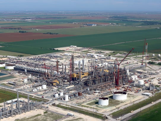 LyondellBasell, one of the world's largest plastics,