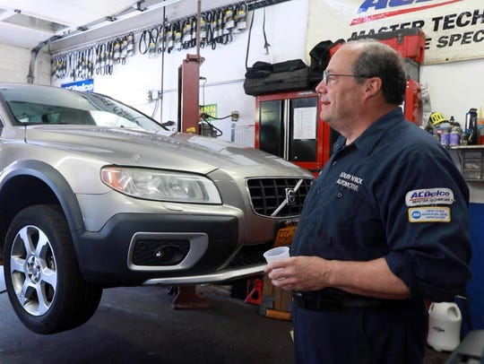 Angelo Letiza of South Nyack Automotive gives tips