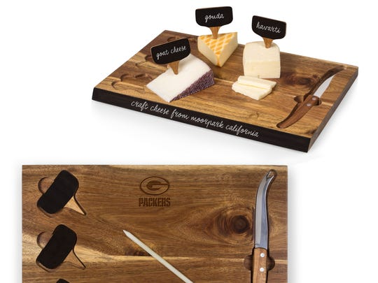 Green Bay Packers cheese board, $39.99.