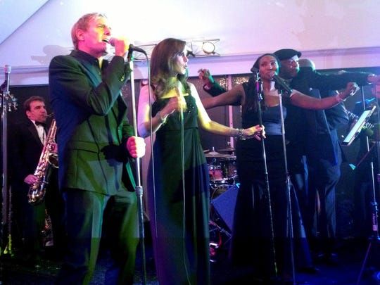 "Michael Bolton sings ""Ain't No Mountain High Enough."" A Motown homecoming reception was held at the Roostertail in Detroit on Oct. 21, 2014 in advance of ""Motown: The Musical"" at the Fisher Theatre."