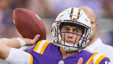 Imagine that! LSU's offense improves in secret scrimmage after getting shut out a week ago