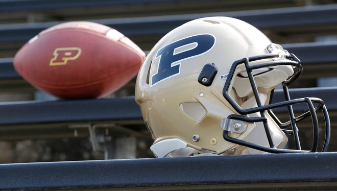 Purdue football media day Thursday, August 3, 2017, in West Lafayette.