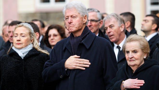 Former president Bill Clinton in 2011.