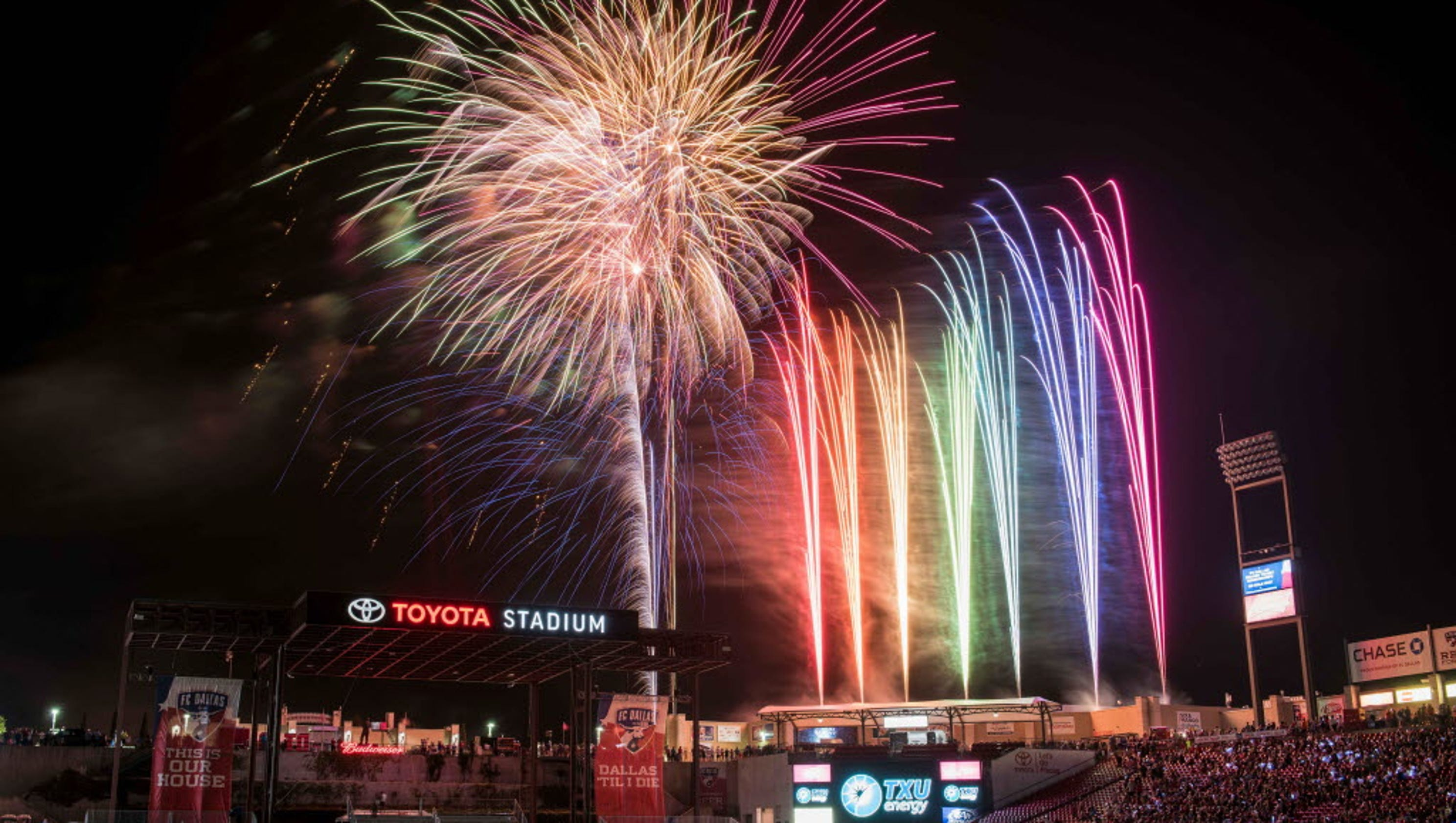The Best Fireworks Across The Usa