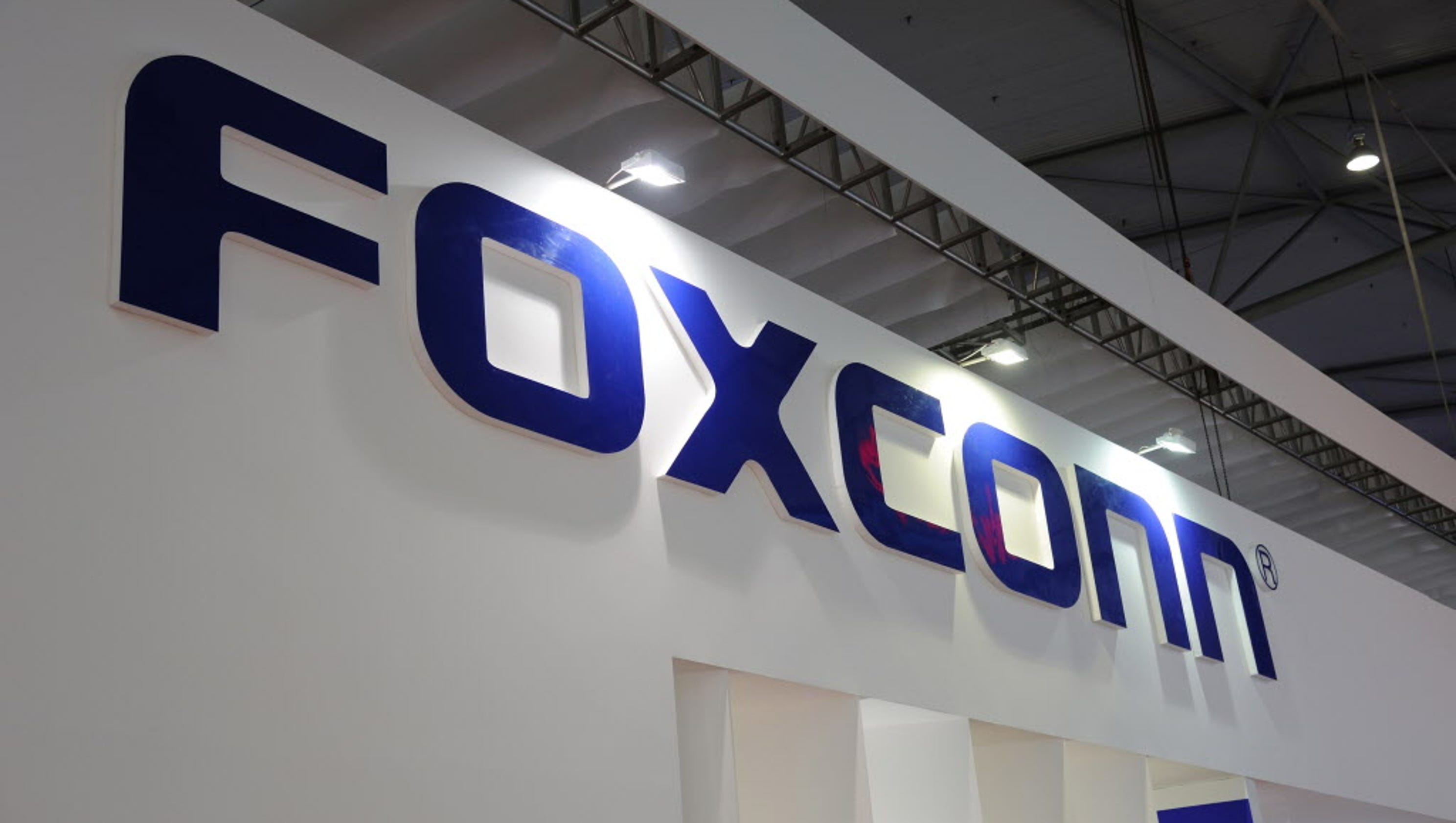 Foxconn shifts production focus away from large display panels, article says